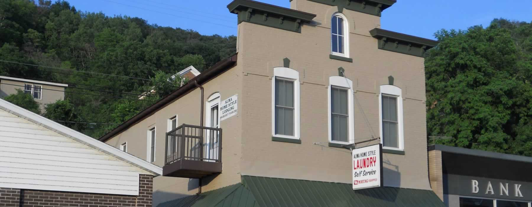 About Alma Home Style Lodging in Alma Wisconsin
