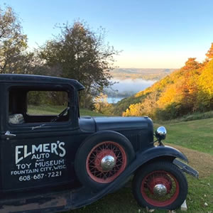 Elmer's Auto & Toy Museum near Alma Wisconsin