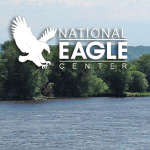 National Eagle Center near Alma, Wisconsin