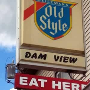 Dam View Bar in Alma Wisconsin