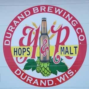 Durand Brewing Company near Alma Wisconsin