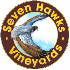 Seven Hawks Vineyards near Alma Wisconsin